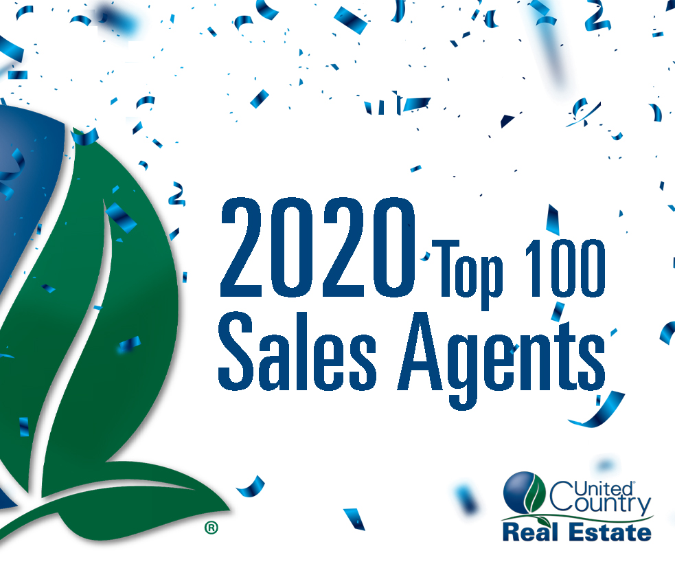 United Country Announces Top Performing Sales Agents of 2020