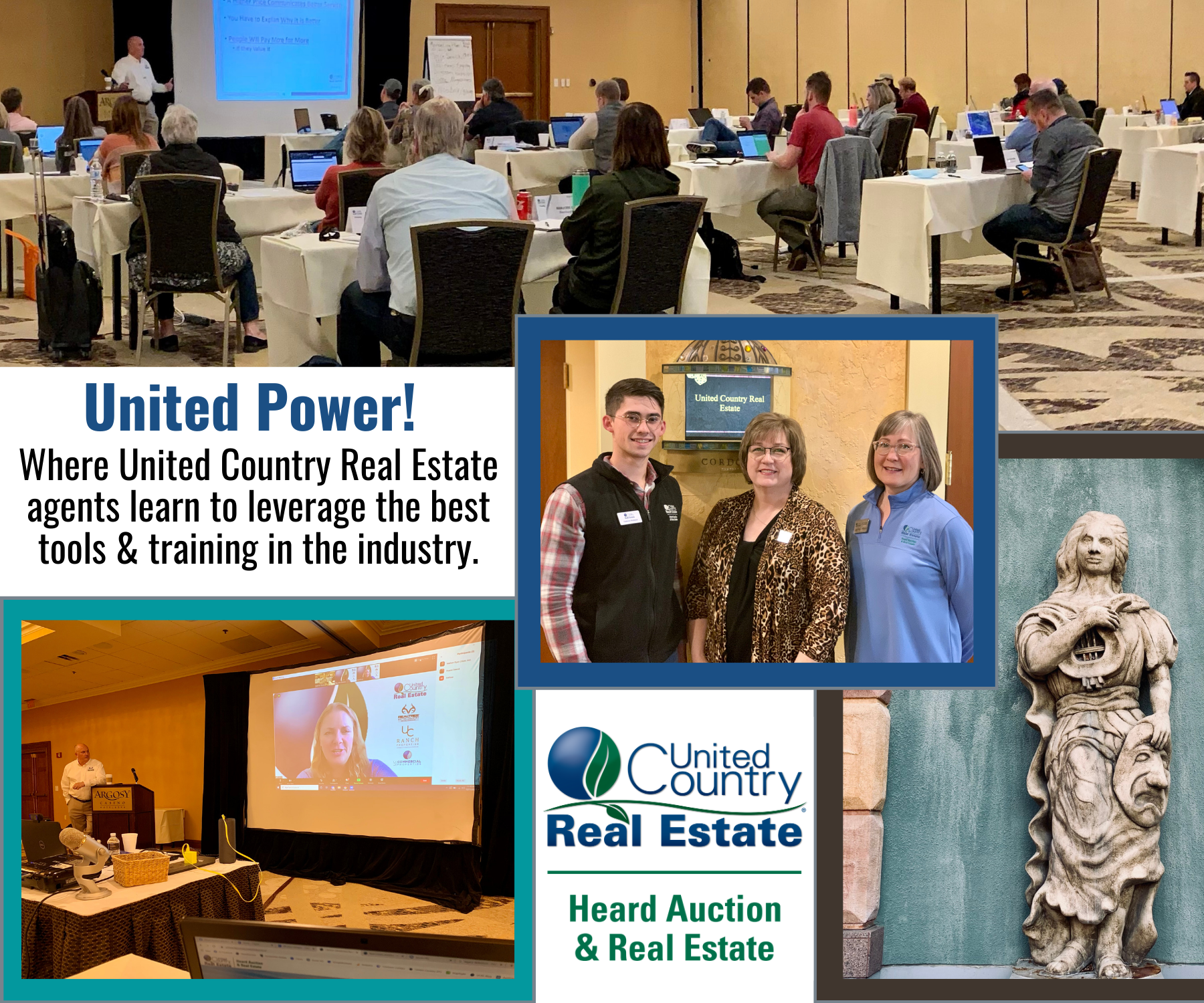 United Power!  Training for Best Real Estate Agents in Oklahoma