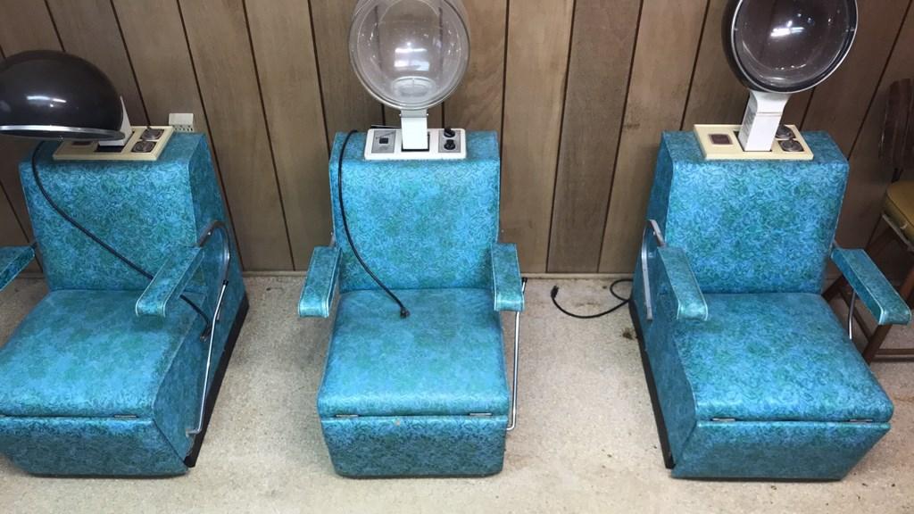 Vintage Coca-Cola, Salon Chairs, Appliances, Tools, &  Household