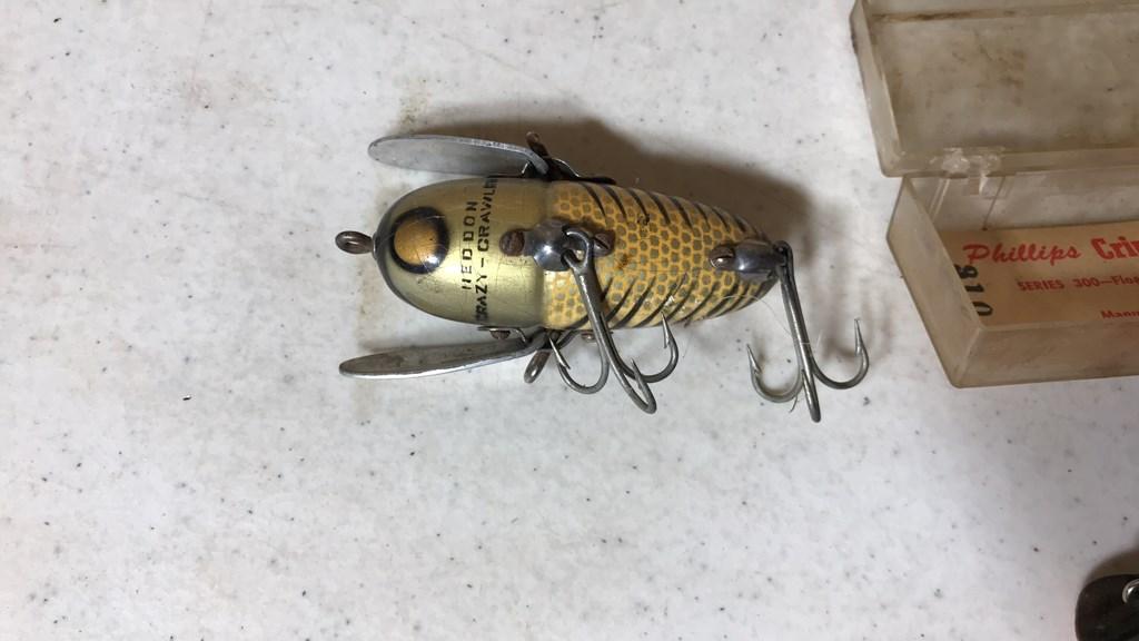 Fishing Reels, Poles, Bait & Tackle