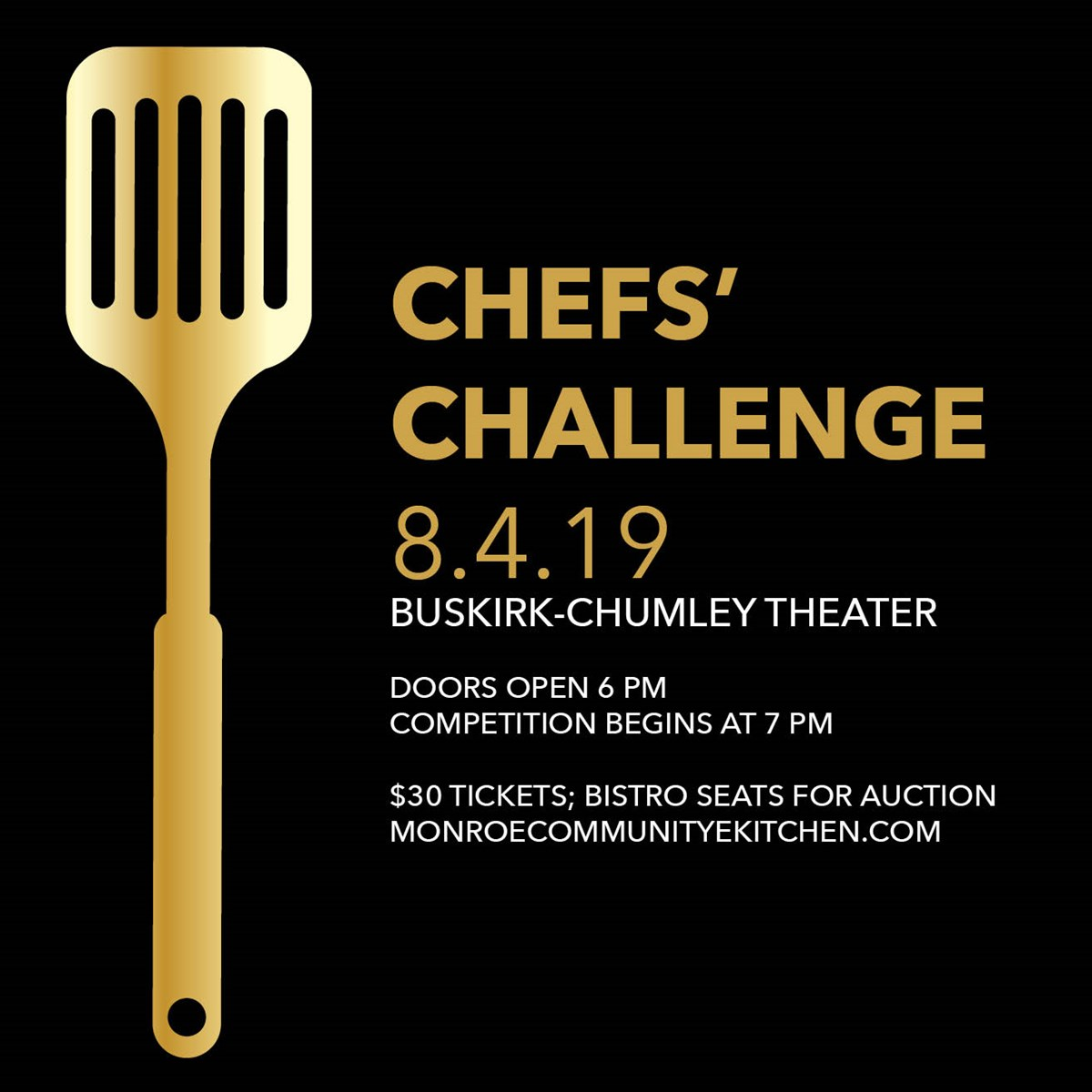 13th Annual Chefs' Challenge | Bistro Seat Auction