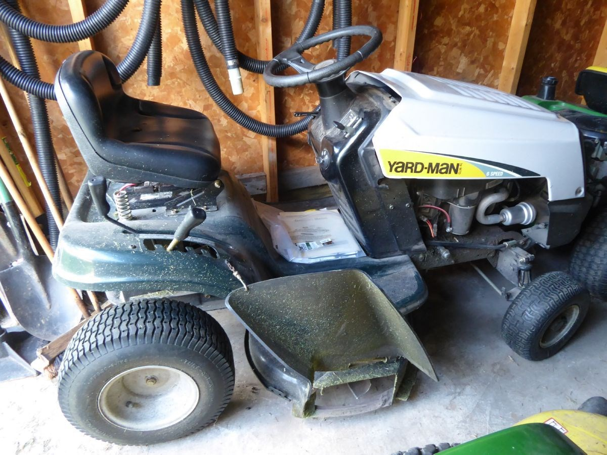 The Mowers, Garage Items, Sporting & Household Online Only Auction