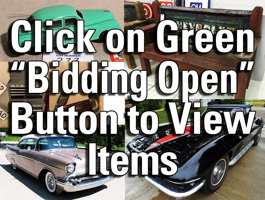 MISSOURI COLLECTOR CAR & COLLECTIBLES AUCTION