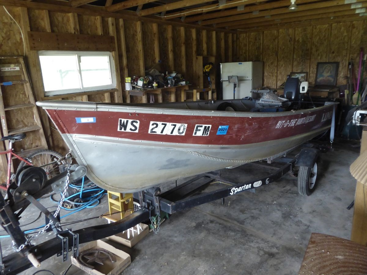 The Boat, Mower, Garage & Household Items Online Only Auction