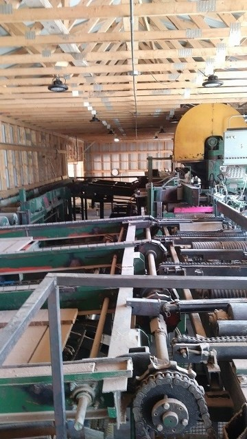 Sawmill Equipment Auction