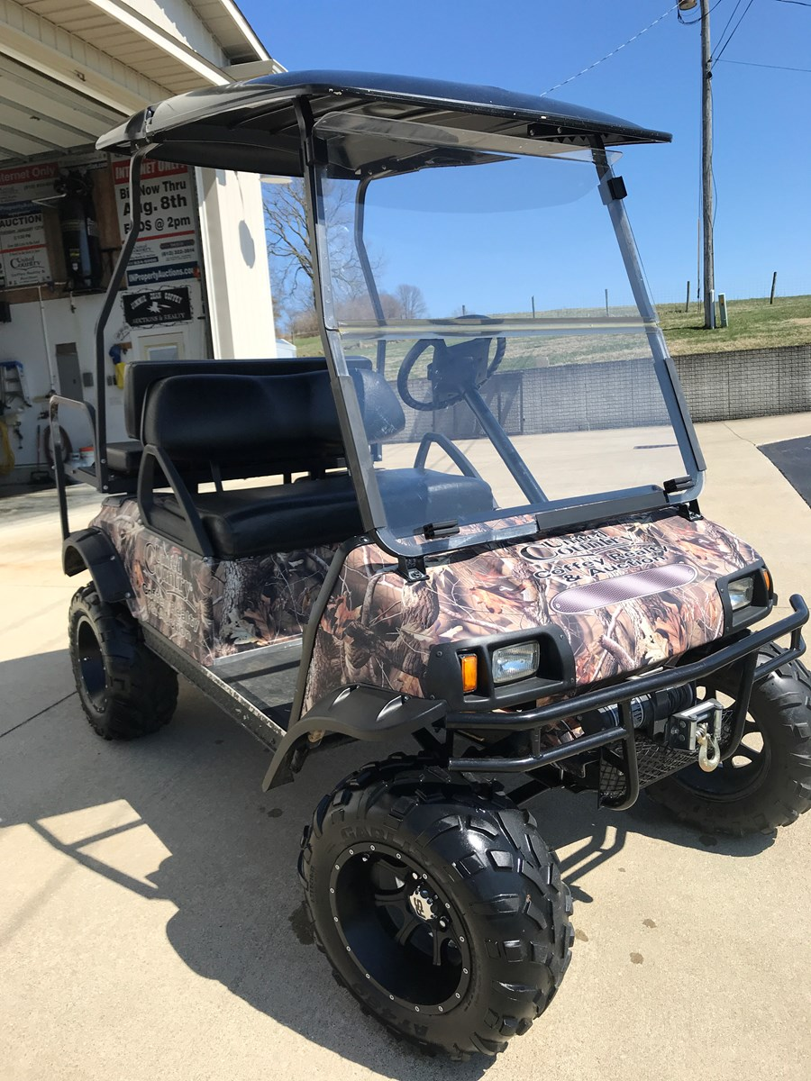 Electric Club Car Golf Cart | Farm Equipment | Auction