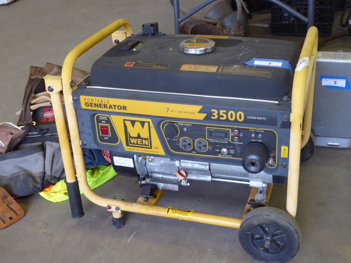 The Garage Items, Tools, Collectibles and Household Online Only Auction