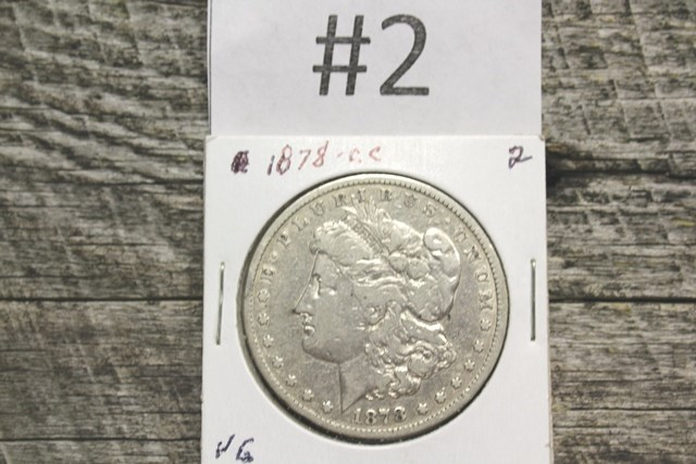 LARGE ONLINE COIN AUCTION