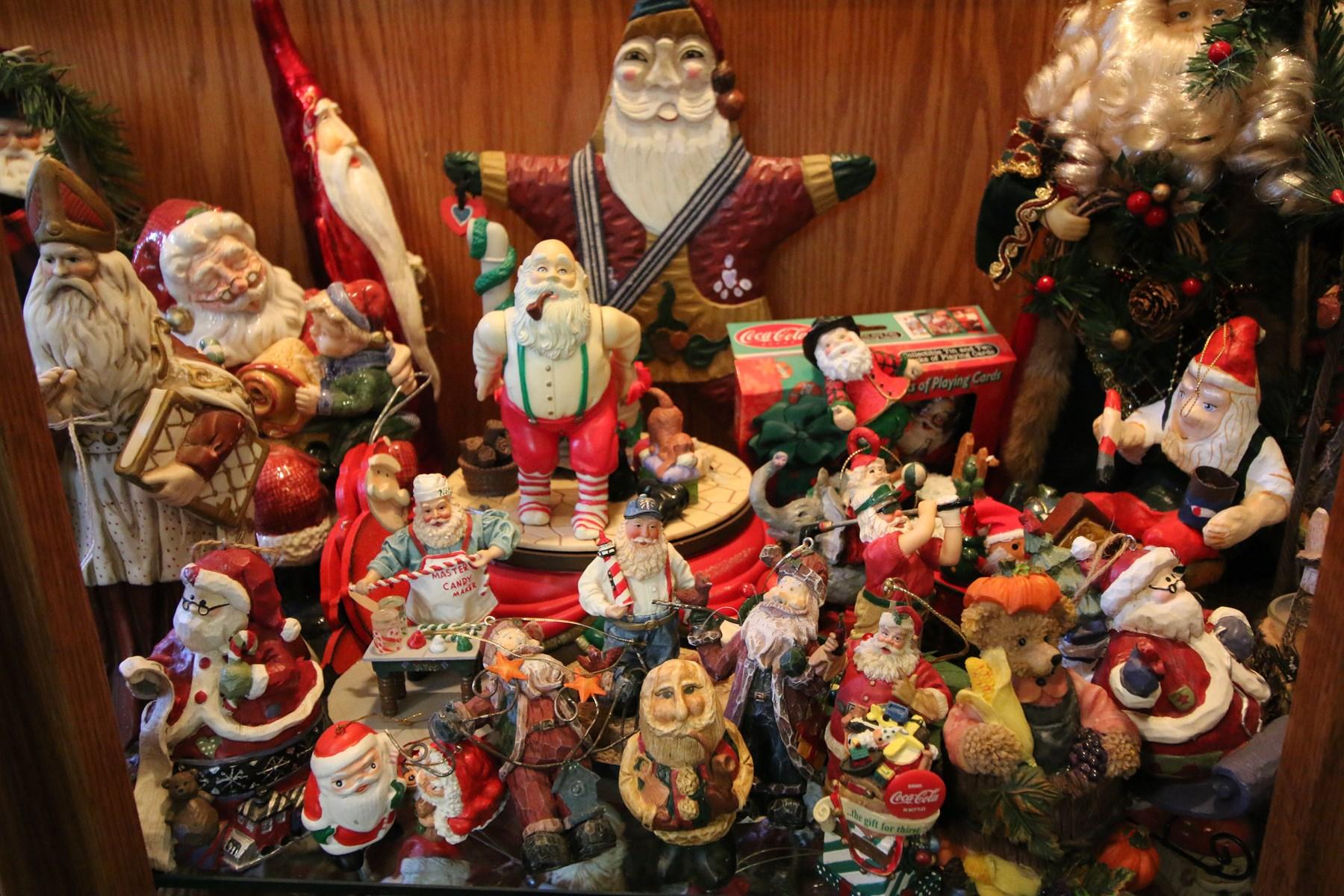 Santas, Santas, and more Santas