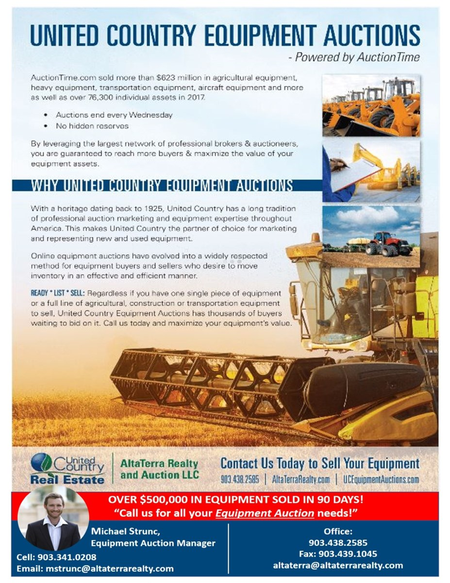 United Country AltaTerra Equipment Auctions