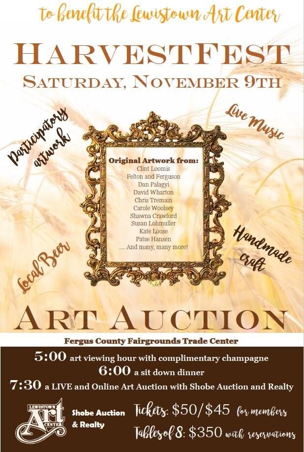 Harvest Fest Art Auction