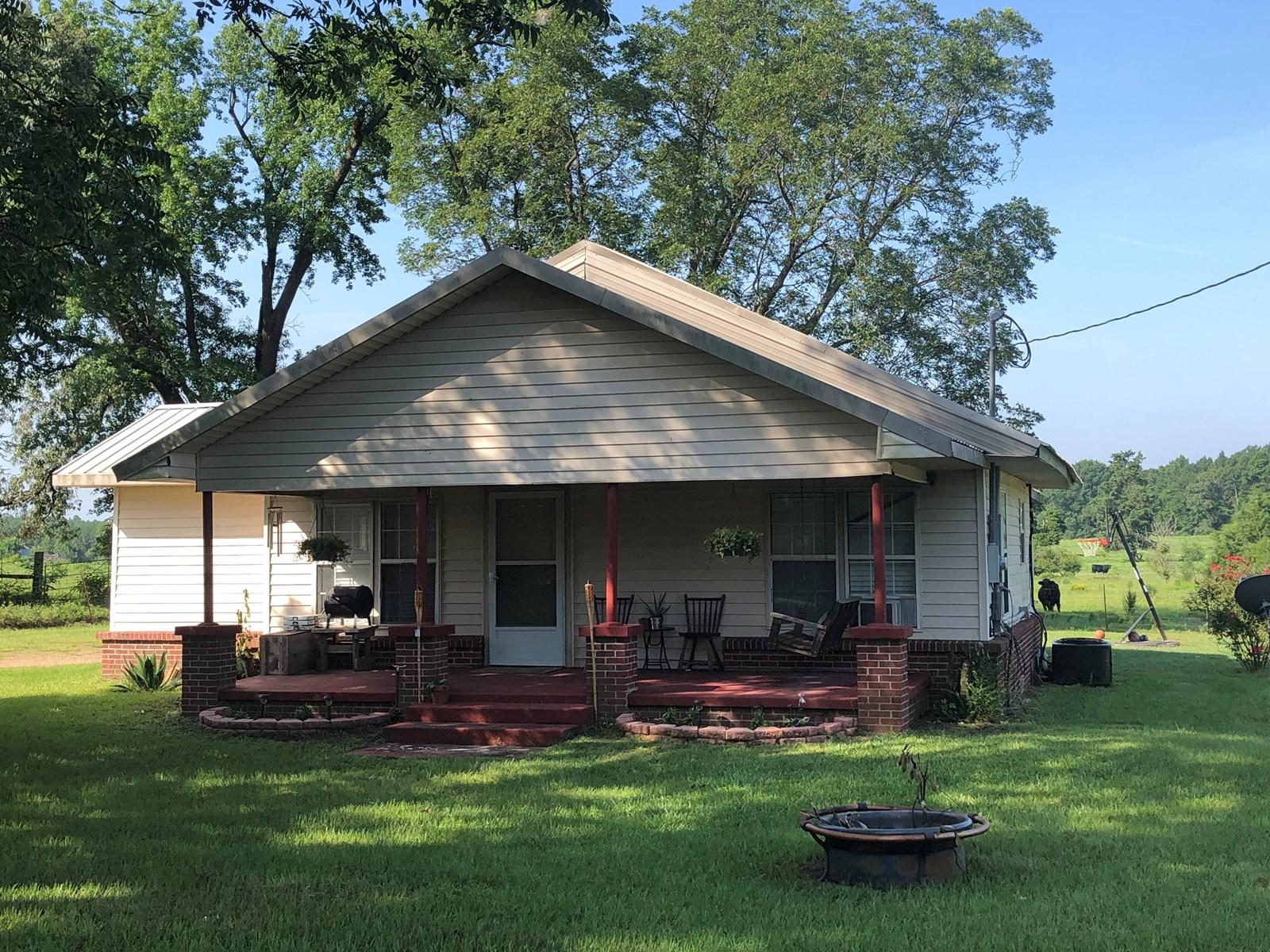 Country Farm House, Cass Co, TX