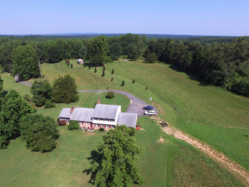 4BR Home on 74 Acres With Pond in Southern Virginia