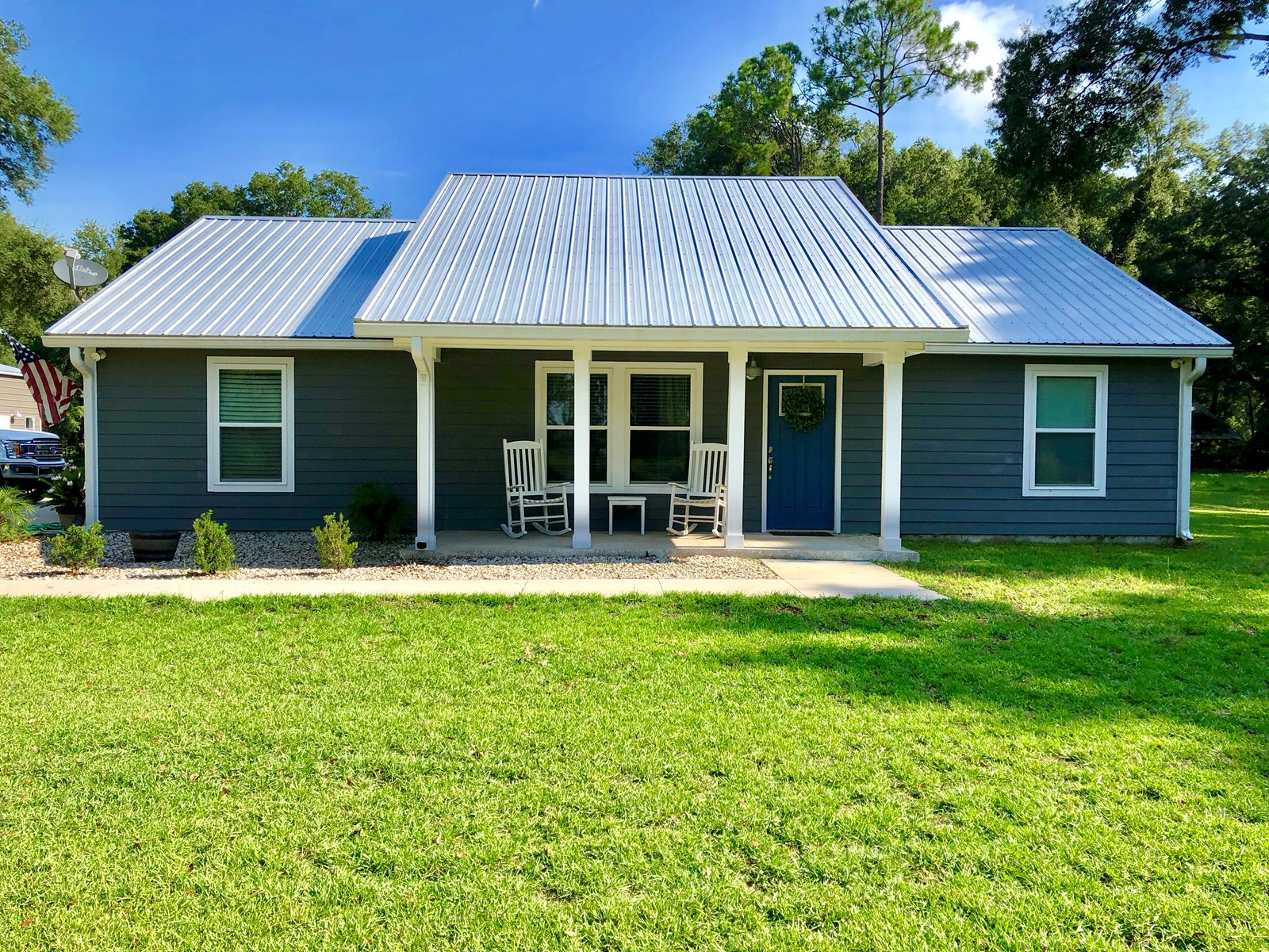 Country home on 5 acres in Gilchrist County, FL