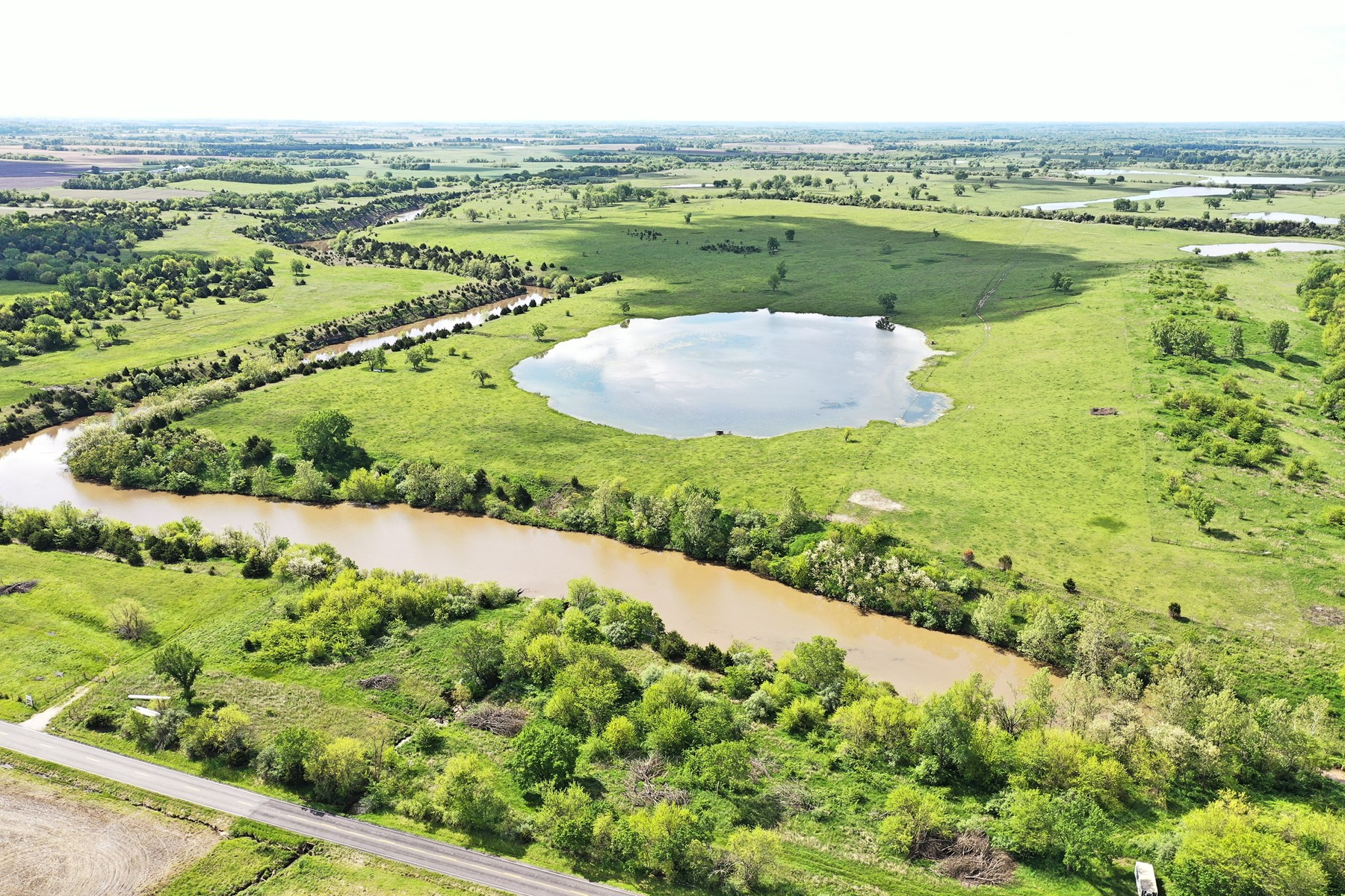 Sprawling Cattle Ground with over 70 acres of Surface Water