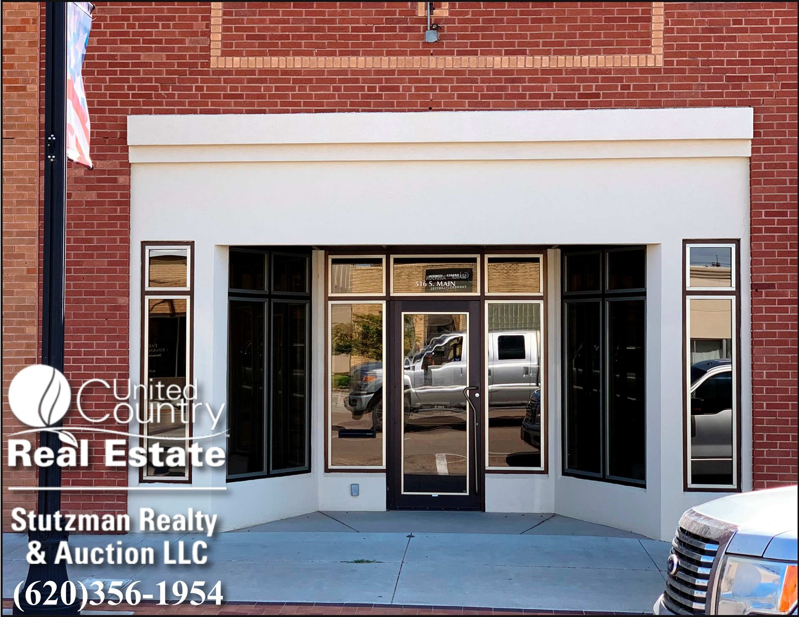 UPDATED AND HISTORIC OFFICE BUILDING FOR SALE IN HUGOTON, KS