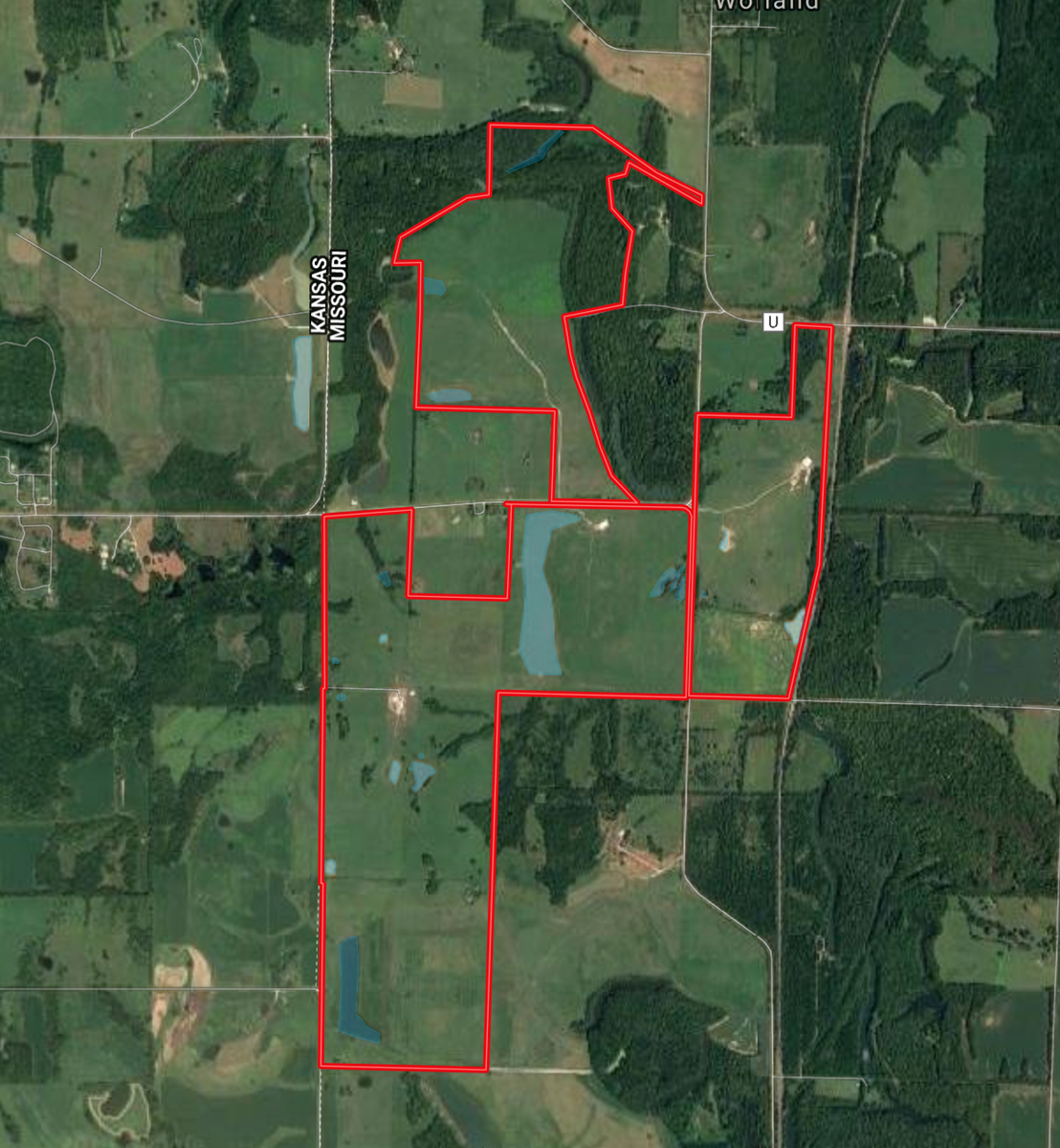 Fully Operational Cattle Ranch with Whitetails & Waterfowl