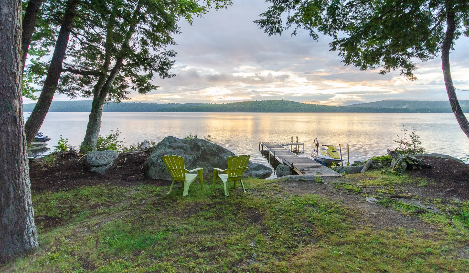 Maine Lakeside Retreat Property For Sale