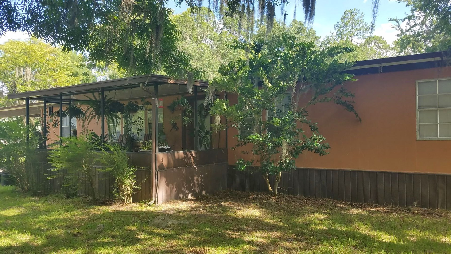 Doublewide on beautiful 1 acre lot