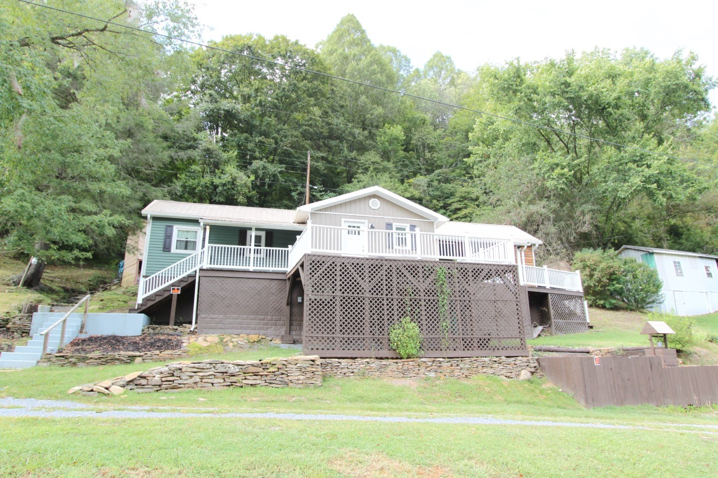 Refashioned Country Home With River Frontage For Sale In VA
