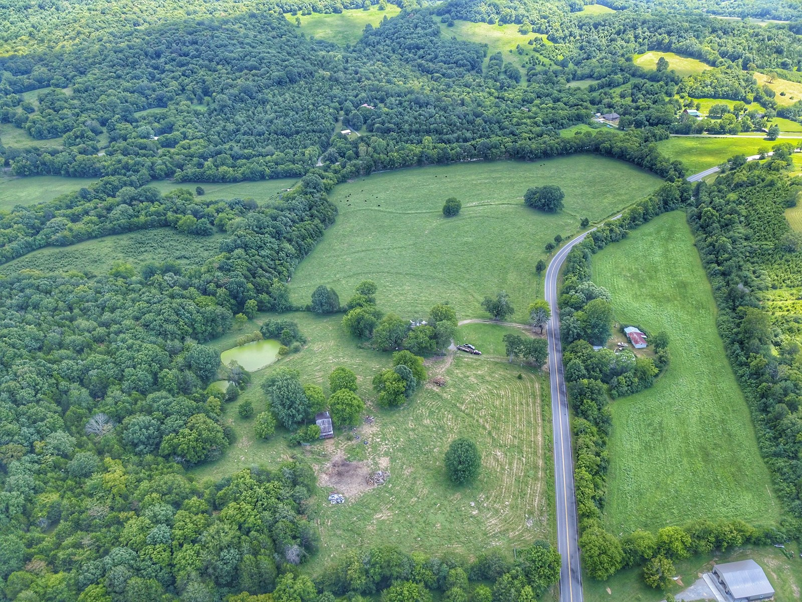 1700 Foot of County Road Frontage