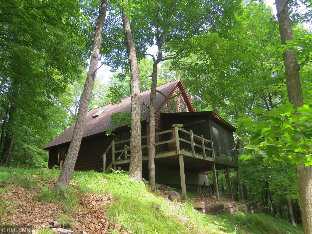 Home for Sale with Wooded Acreage and Pine Lake Access, MN
