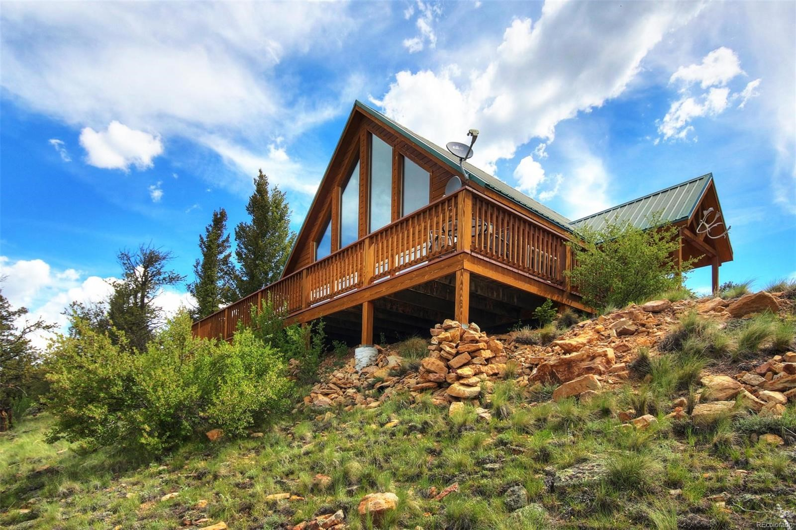 Stunning Colorado Peak views and private river fishing!