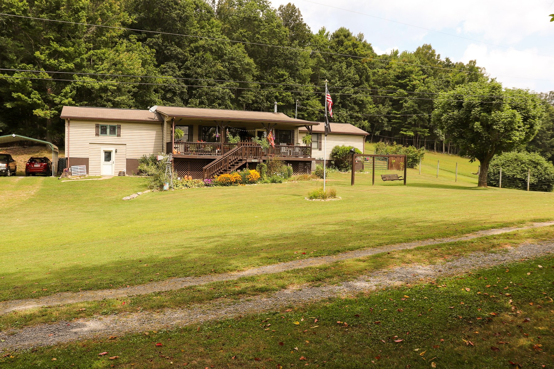 Country Home for Sale in Pilot VA!