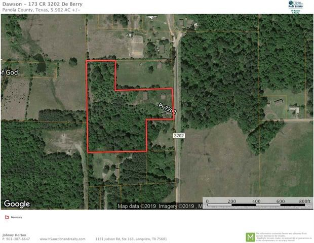 Investment Property DeBerry | Land for Sale DeBerry Yexas