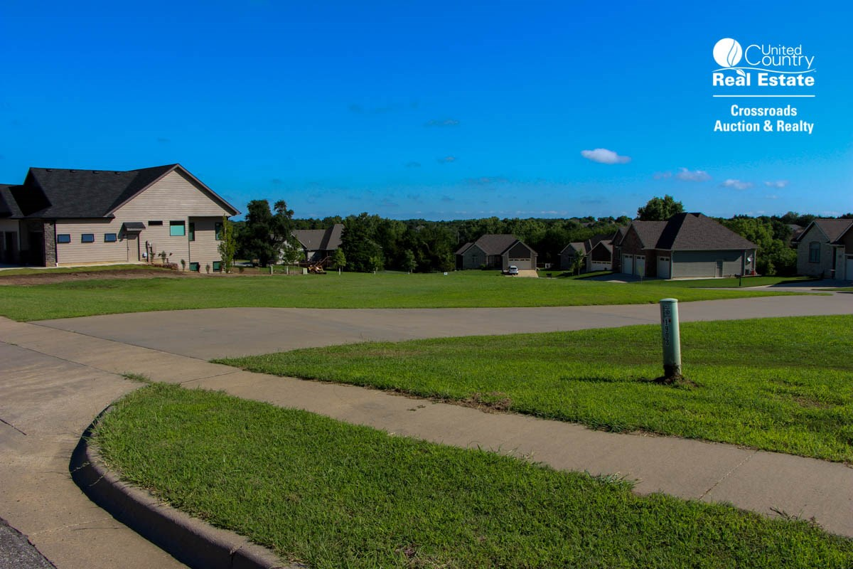 Residential Building Lot For Sale by Auction in Riverrun Subdivision in Salina Kansas