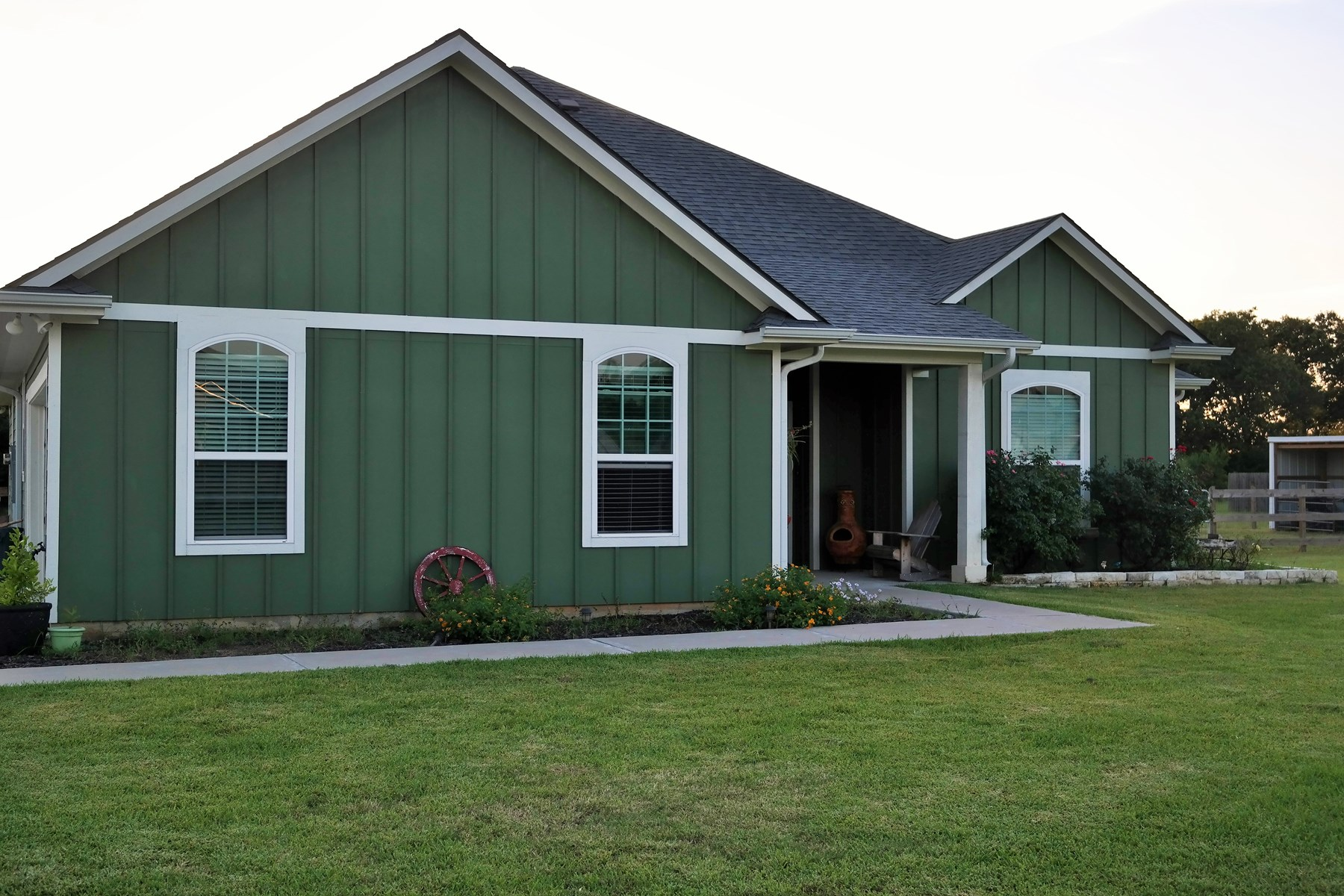 Country Home in North Zulch on 1.474 acres