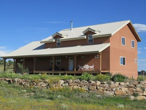 COUNTRY HOME WITH GREEN FEATURES & ACREAGE FOR SALE CHAMA NM