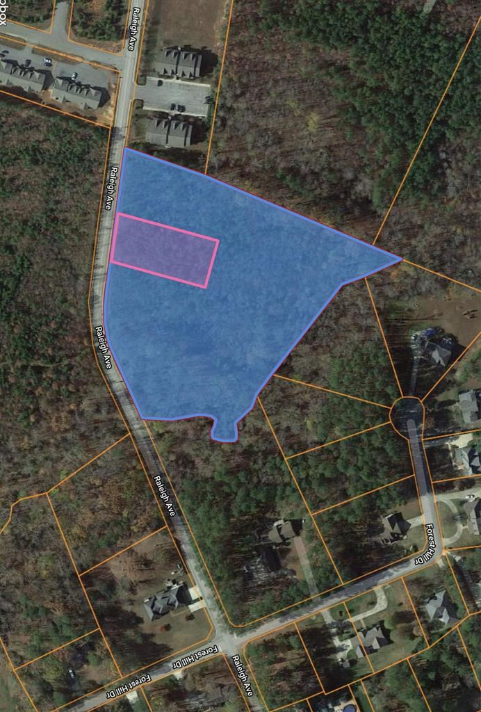 Private Building Lot Near Kerr Lake, VA