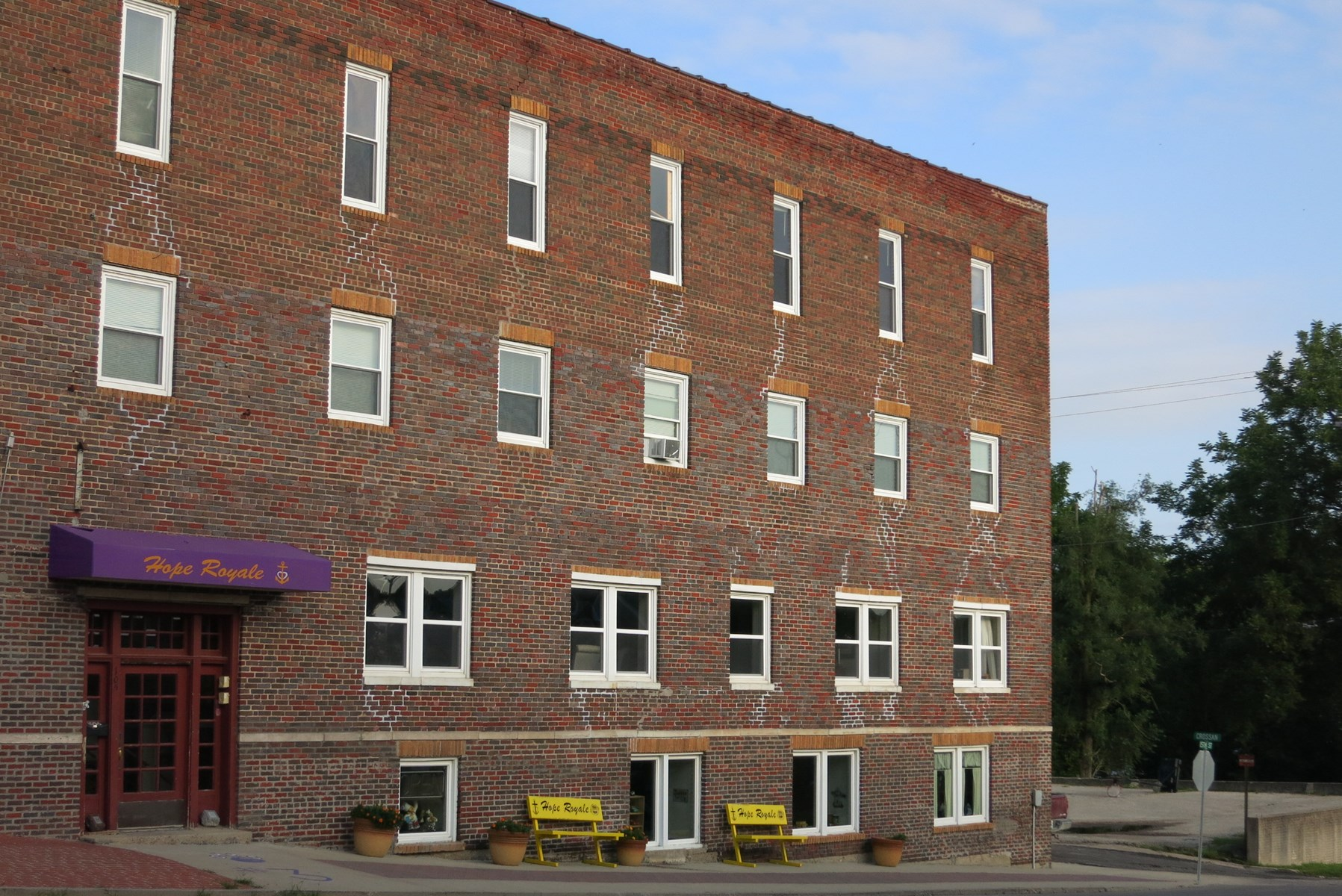 Historical Four Story Building in Bethany Missouri