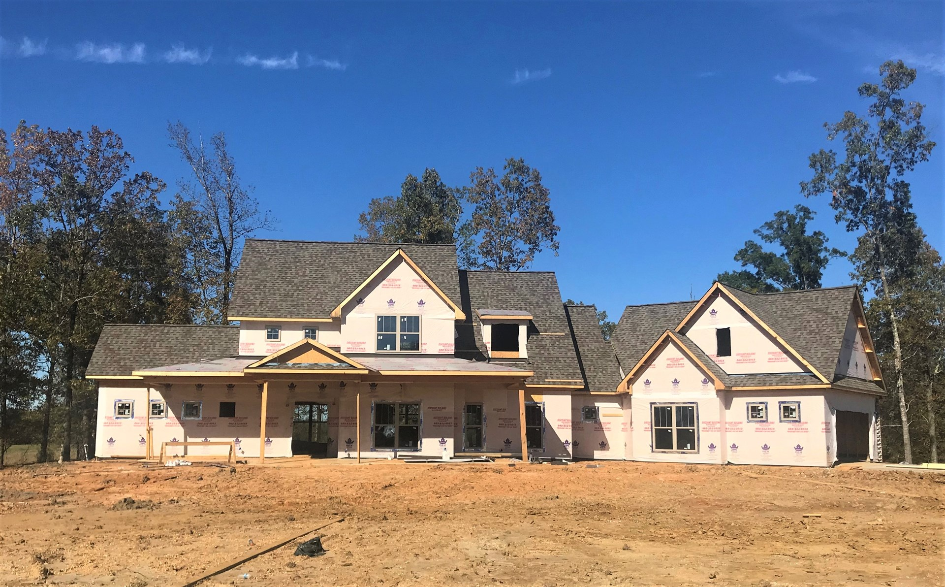 NEW CONSTRUCTION FOR SALE IN IRONWOOD SUBDIVISION
