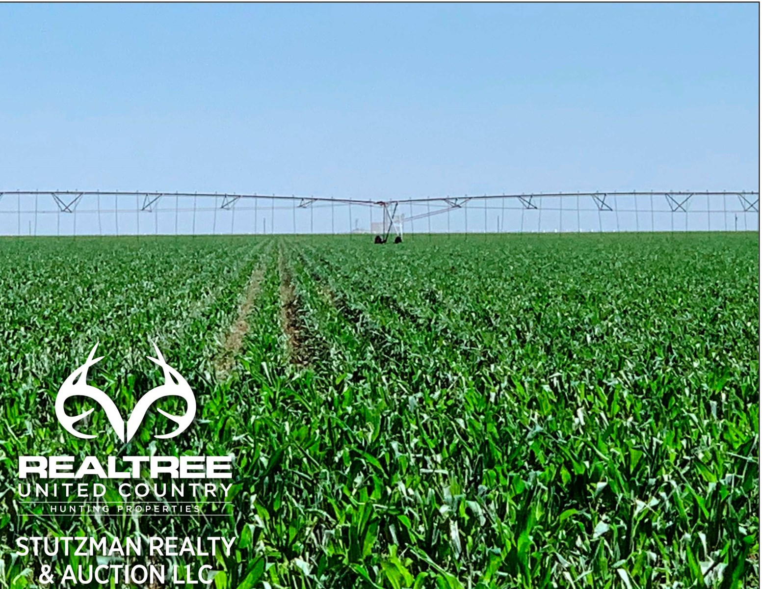TRACT #6 - 160 IRRIGATED LAND FOR SALE IN ULYSSES, KS