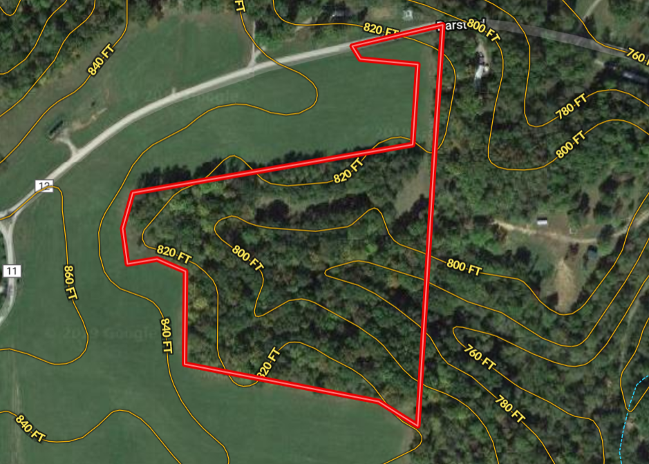 Ohio land for sale in Meigs County consisting of 10.37 acres