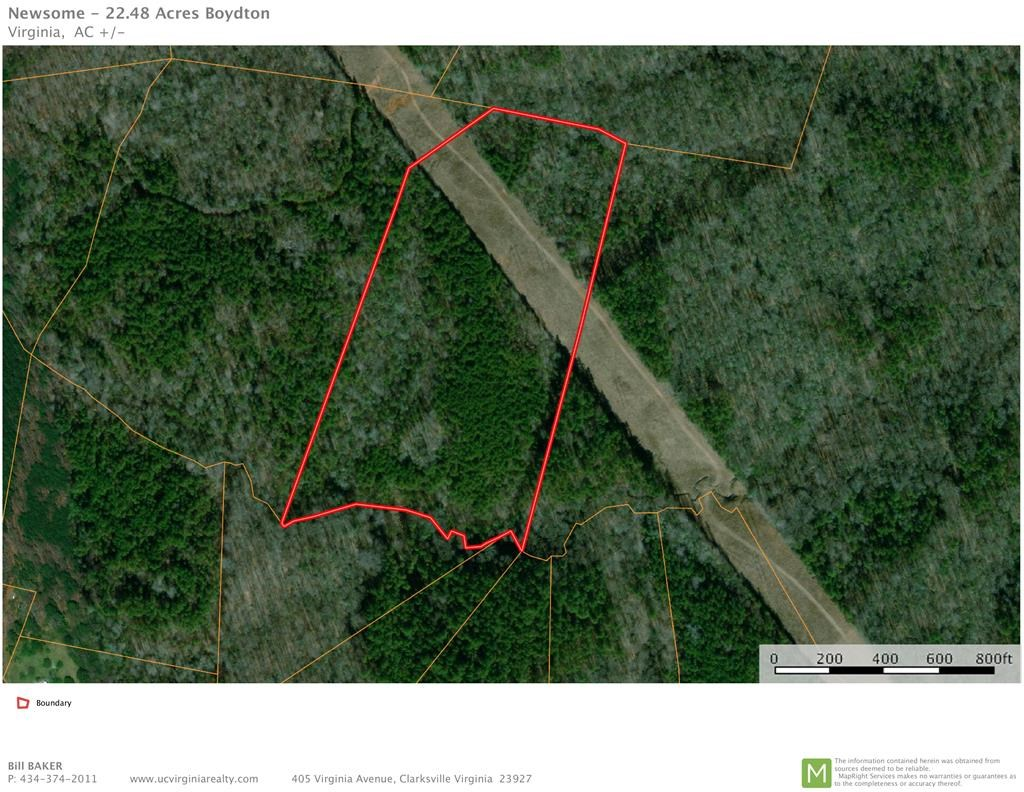 Over 22 Acres Minutes to Buggs Island Lake, VA