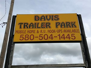 TURNKEY MOBILE HOME & RV PARK FOR SALE IN CARTER COUNTY, OK