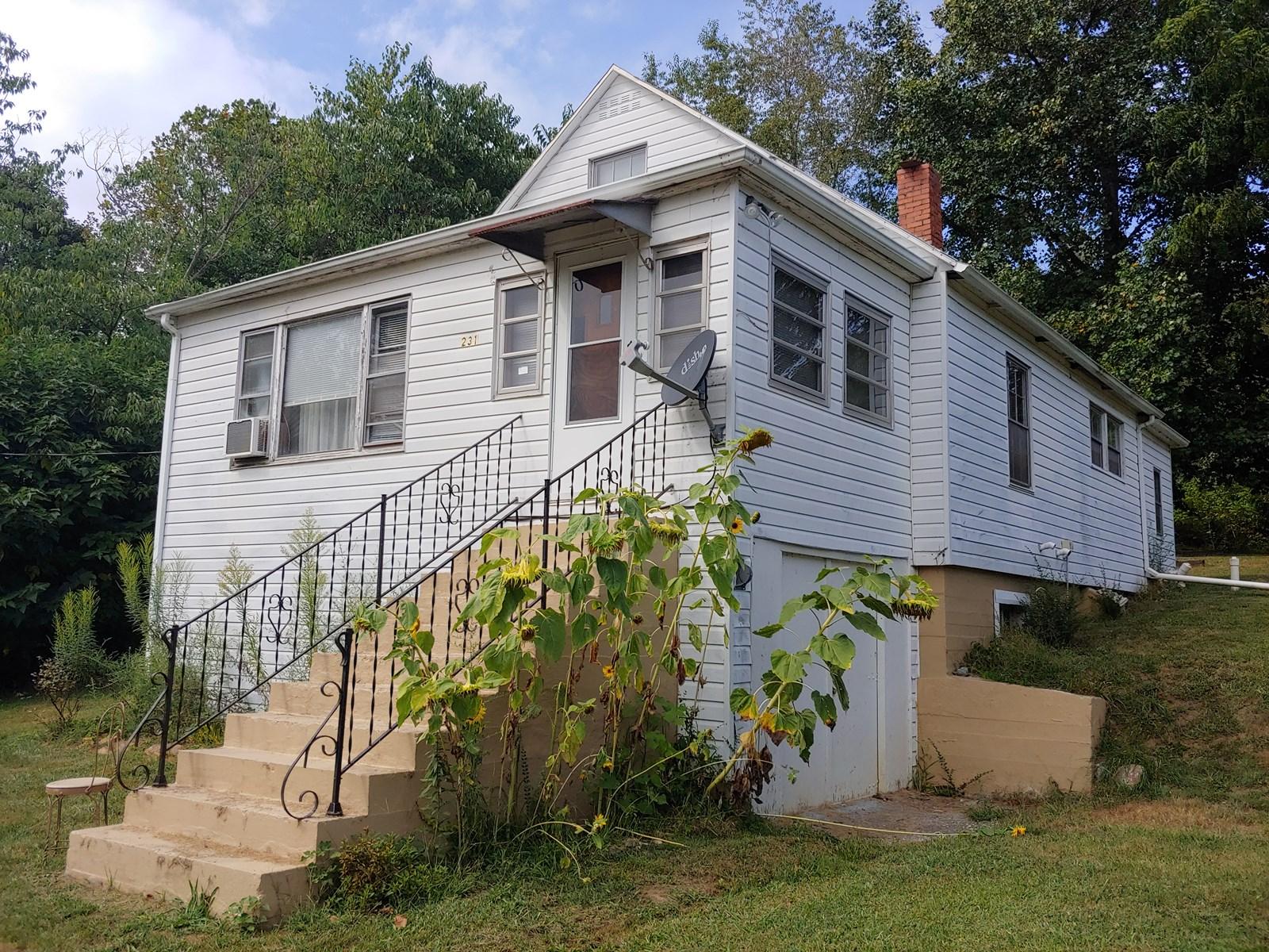 Cape Cod Style Home for Sale in Staffordsville, VA