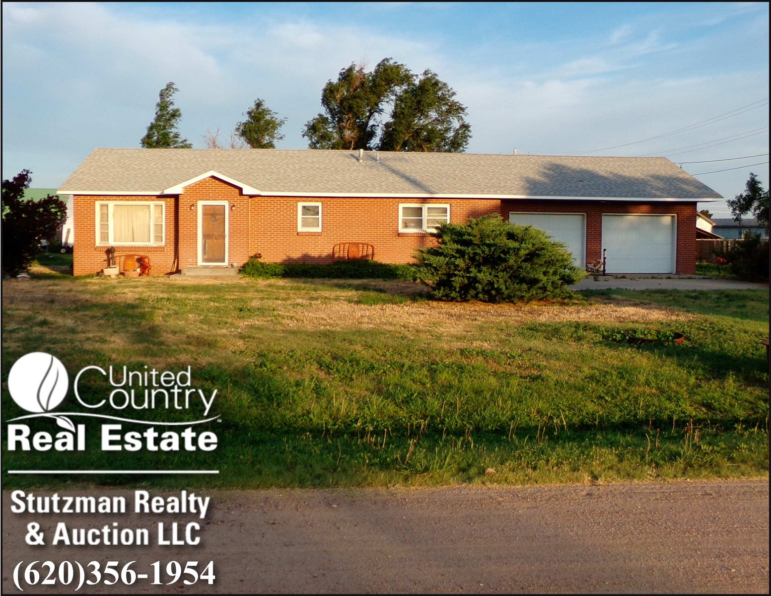 REAL ESTATE PRIVATE AUCTION ~ 204 N MONROE, MANTER, KS