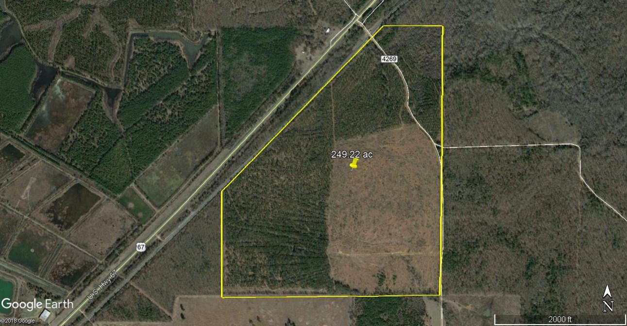 249 ACRES OF TIMBER PROPERTY FOR SALE FAR NORTHEAST TEXAS