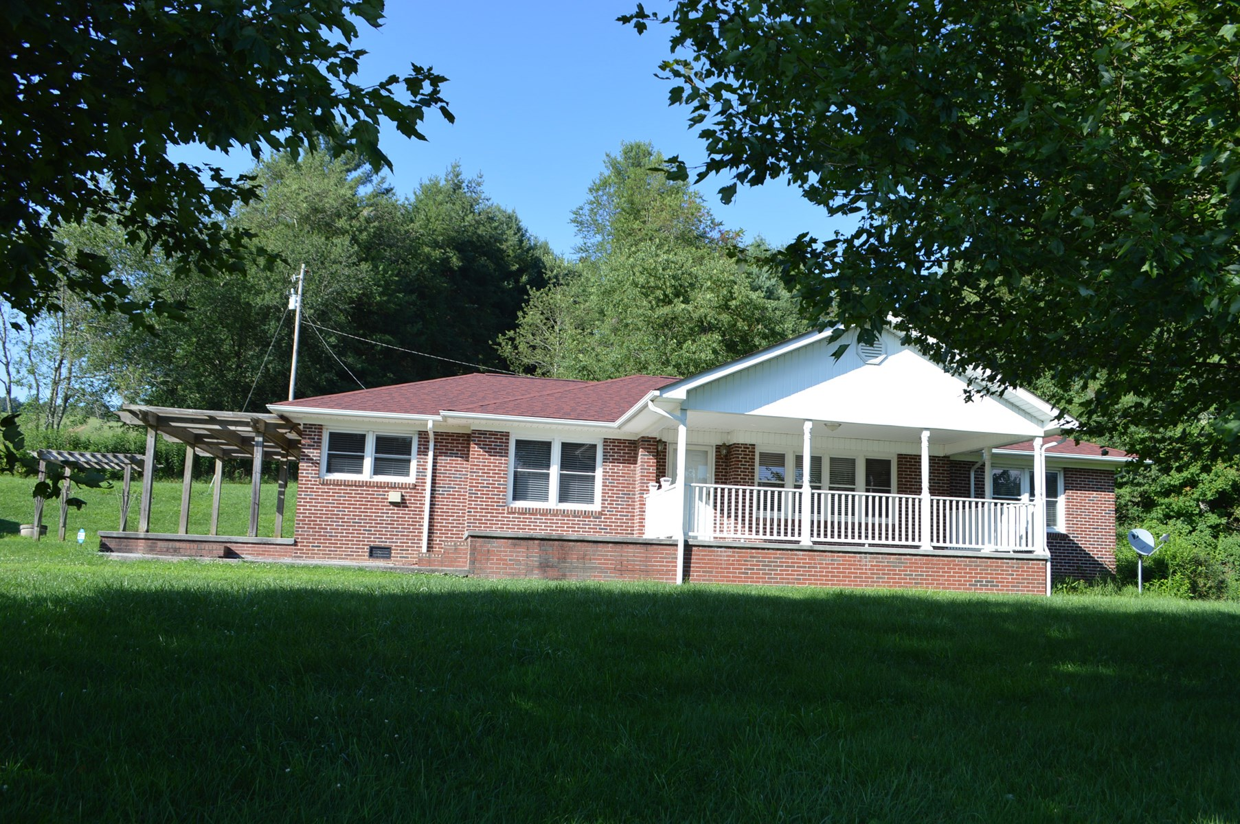 Nice Brick Ranch located near the Blue Ridge Parkway.