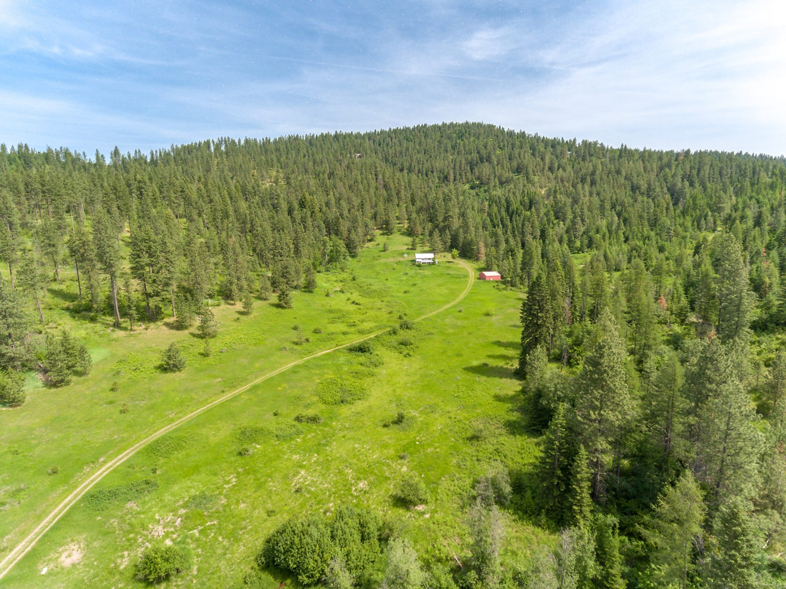 Home with Acreage in North Idaho