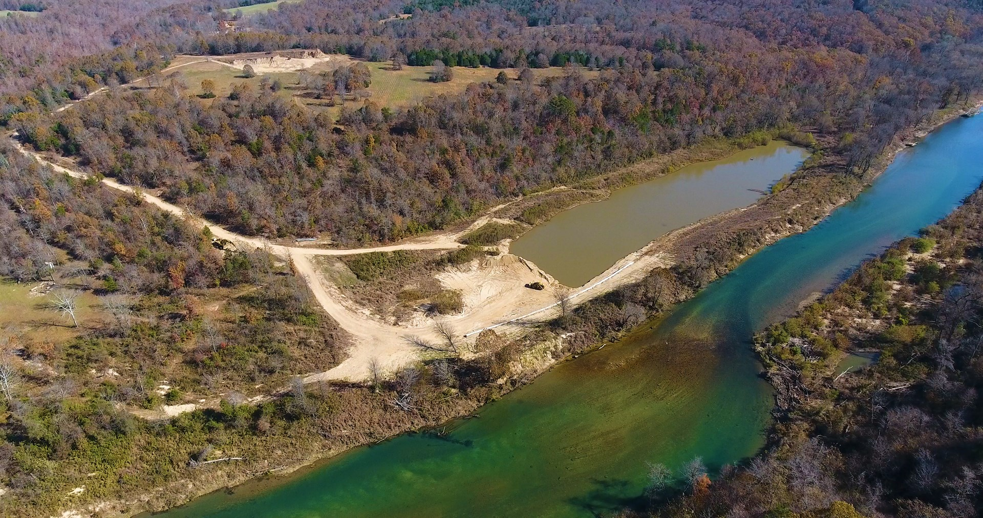 Home on River with Private Lake in Missouri Ozarks w/ Income