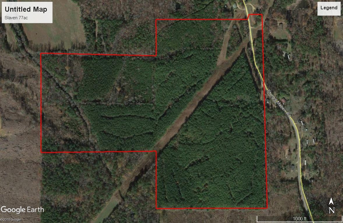 77 Acres - Maben Sturgis Rd, Maben, MS