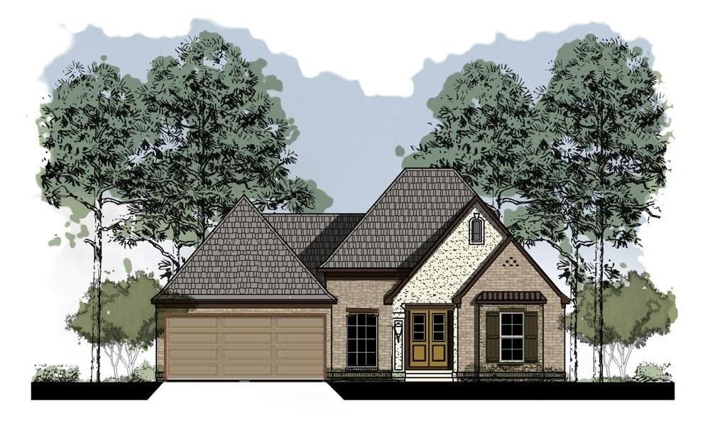 New Construction: 421 Foxfire Cove, Starkville, MS 39759