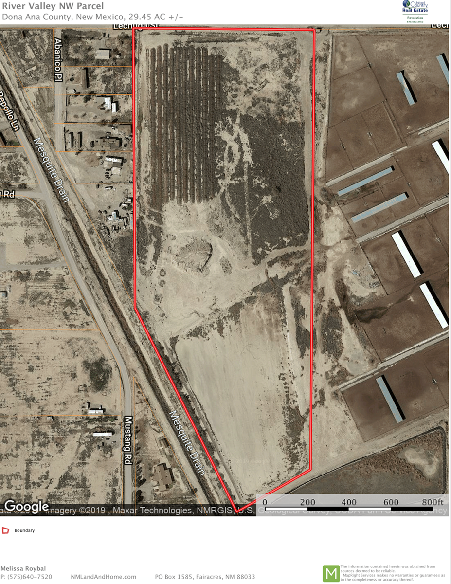 Industrial Land in Vado, NM Available for Purchase