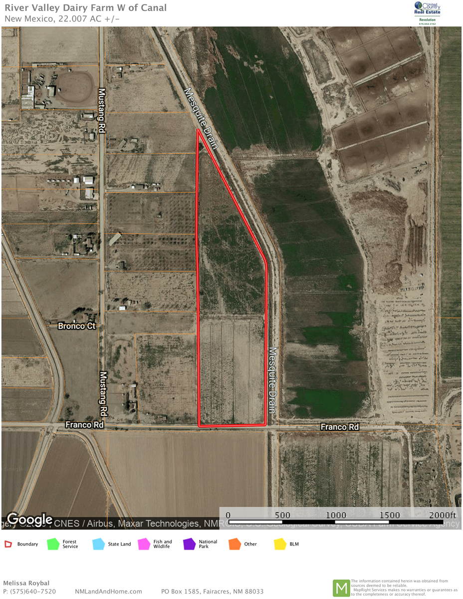 Farm For Sale in Vado, NM-  Horses, Crops, Developer Welcome
