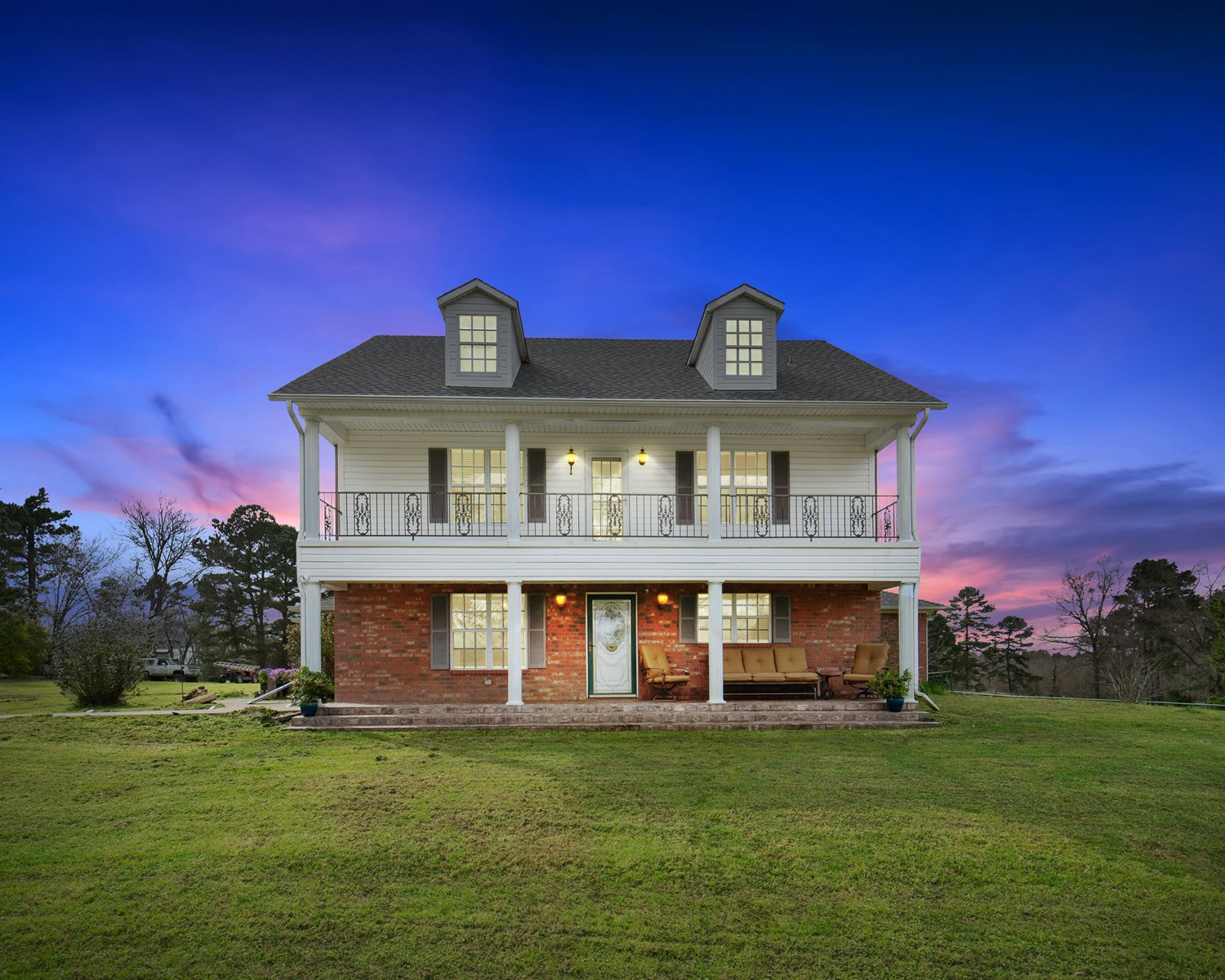 Country Home For Sale Marshall TX Farm Ranch Hunting Land